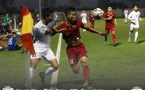 U22 Việt Nam hòa Myanmar 2-2 trước khi dự SEA Games 2019