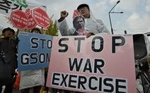 Mỹ, Hàn hủy tập trận do Triều Tiên tập trung máy bay chiến đấu?