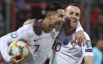 Ronaldo ghi bàn thứ 99 giúp Bồ Đào Nha đoạt vé dự Euro 2020
