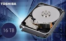Toshiba công bố ổ cứng dung lượng đến 16TB
