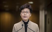 Lãnh đạo Hong Kong Carrie Lam yêu cầu người biểu tình đầu hàng