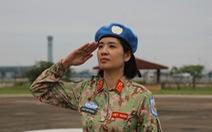 Xúc động giây phút tiễn quân nhân đi gìn giữ hòa bình tại Nam Sudan