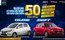 Suzuki ưu đãi lớn lên đến 50 triệu, cơ hội sở hữu ôtô trước Tết