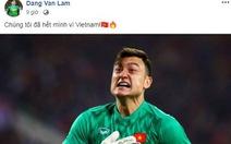 Văn Lâm viết Facebook mừng 'chiến công', nhận hơn 80.000 likes và vô số lời khen
