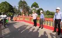 Hàng triệu dân miền Tây đỡ vất vả với 418 cầu bêtông mới
