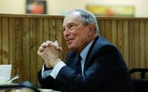 Đối thủ đáng gờm của ông Trump - tỉ phú Bloomberg đã nộp hồ sơ tranh cử