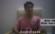 Bắc Kinh tung clip cựu nhân viên lãnh sự Anh 'nhận lỗi', mạng tung clip 'cặp kè' gái lạ
