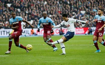 Tottenham thắng vất vả West Ham trong ngày ra mắt của HLV Mourinho