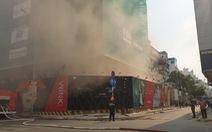Cháy công trình khách sạn ở trung tâm quận 1, TP.HCM