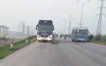 Hai bố con đi bộ sáng, bị xe khách tông chết ở đường tránh TP Thanh Hóa