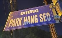 Tự gắn biển 'Đường Park Hang Seo' có bị phạt không?