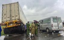 Vụ tai nạn 3 người chết ở Quảng Ngãi: Người trên xe container dính ma túy