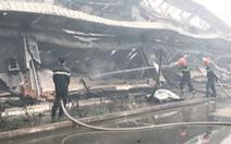 Video: Cháy 10.000m² nhà xưởng tại Công ty may Nhà Bè - Sóc Trăng