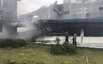 Hai xưởng may khoảng 10.000 m2 Công ty May Nhà Bè - Sóc Trăng bị lửa thiêu rụi