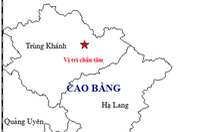 Động đất ở Cao Bằng, Hà Nội và nhiều nơi ở miền Bắc rung lắc