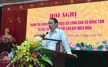 Sai phạm liên quan vụ đất Đồng Tâm (Hà Nội): Gần 30 cán bộ bị xử lý