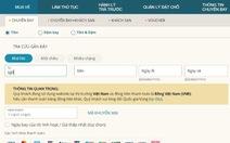 Vì sao truy cập vào website Vietnam Airlines khó khăn?