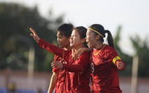 Tuyển nữ Việt Nam và Thái Lan bất phân thắng bại
