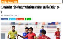 Báo Thái Lan: U22 Thái Lan khởi đầu 'tăm tối' ở SEA Games 30