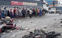 Đang xét xử tài xế container tông 4 người chết, 25 người bị thương khi dừng đèn đỏ