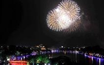 Hà Nội sẽ bắn pháo hoa tại tất cả các quận, huyện dịp Tết Canh Tý