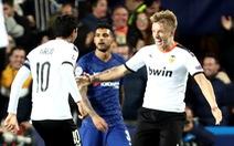 Đánh rơi chiến thắng trước Valencia, Chelsea chưa thể ghi tên vào vòng knock-out