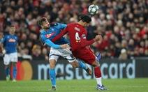 Hòa Napoli, Liverpool 'lỡ chuyến tàu' vào vòng 16 đội