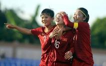 Tuyển nữ Việt Nam - Indonesia: Cuộc đua bàn thắng