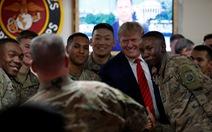 Ông Trump bất ngờ thăm binh sĩ Mỹ tại Afghanistan dịp lễ Tạ ơn