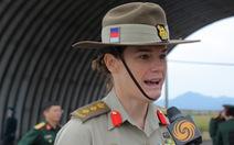 Nữ tùy viên quốc phòng Úc: 'Tôi có duyên sâu sắc với Việt Nam'