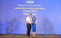 Vietcombank nhận 6 giải thưởng về thẻ