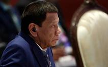 Ông Duterte: ASEAN không nên chọn phe