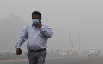 20 triệu dân New Delhi lại nghẹt thở với bụi mịn
