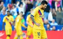 Messi ghi bàn nhưng Barcelona vẫn thua... ngỡ ngàng