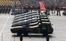 Nhật lo lắng với các dàn tên lửa mạnh của Trung Quốc