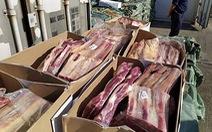 Bắt đường dây đưa lậu 540 tấn thịt vào Trung Quốc