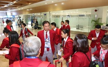 Đoàn thể thao Việt Nam bay sớm 1 ngày để tránh siêu bão Kammuri đổ bộ