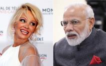 'Bom sex' Pamela chỉ cho thủ tướng Ấn Độ cách giải quyết ô nhiễm