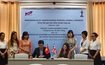 ICAEW tăng cường quan hệ hợp tác với Đại học Tôn Đức Thắng