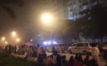 Cháy chung cư, cả ngàn người sơ tán trong đêm