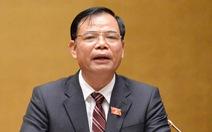 Bộ trưởng Nguyễn Xuân Cường cam kết Tết không thiếu thực phẩm 'như Trung Quốc'
