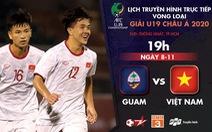 Lịch trực tiếp U19 Việt Nam - Guam: 3 điểm và hơn thế nữa!