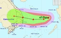 Bão số 6 đang tiến vào Nam Trung Bộ, một bão khác 'lăm le' xuất hiện