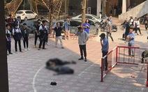 Nam sinh viên đi bộ bị bạn rơi từ tầng 13 trúng bất tỉnh đã qua nguy kịch