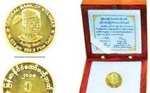 Myanmar phát hành tiền xu bằng vàng mới
