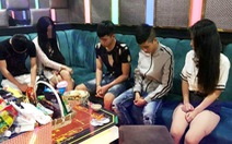 22 thanh niên dương tính ma túy lắc trong quán karaoke lúc rạng sáng