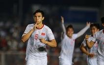 U22 Việt Nam - Indonesia (hiệp 2) 1-0: Văn Hậu mở tỉ số