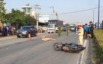 Truy trìm ôtô tông chết người trên đường Mỹ Phước - Tân Vạn rồi bỏ trốn