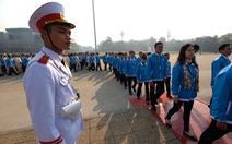 1.000 đại biểu hội quân hành trình 'Tôi yêu Tổ quốc tôi'
