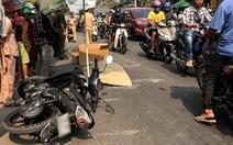 Chạy xe máy tốc độ cao, nam thanh niên tử vong sau khi tông trúng 2 xe máy